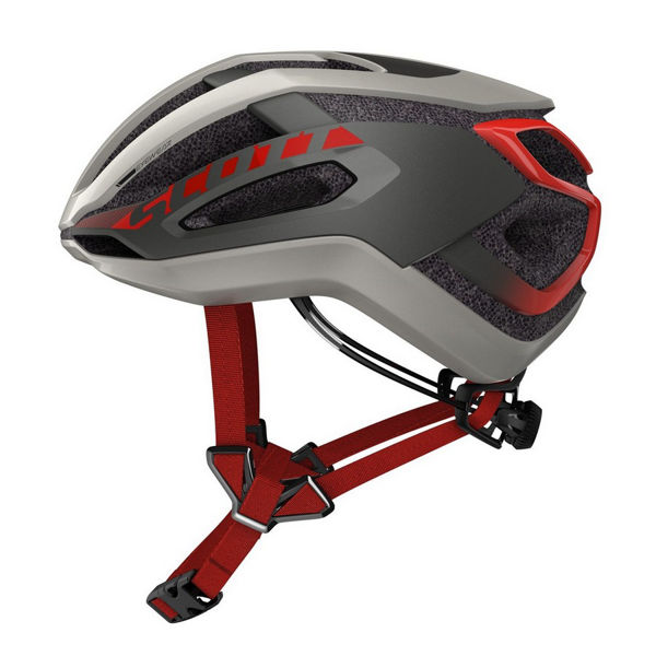 Picture of SCOTT BIKE HELMET CENTRIC PLUS GREY/RED