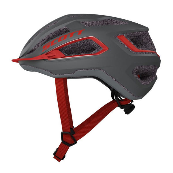 Picture of SCOTT BIKE HELMET ARX DARK GREY/RED