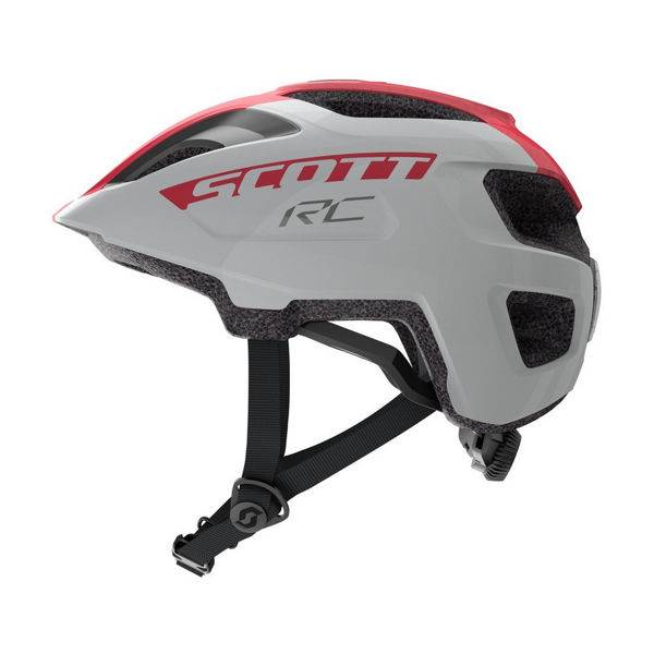 Picture of SCOTT BIKE HELMET SPUNTO JR SILVER/PINK FOR JUNIORS
