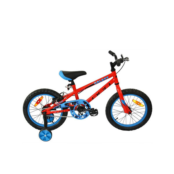 "Picture of DCO BIKE GALAXY 16"" RED/BLUE 2020 FOR JUNIORS"