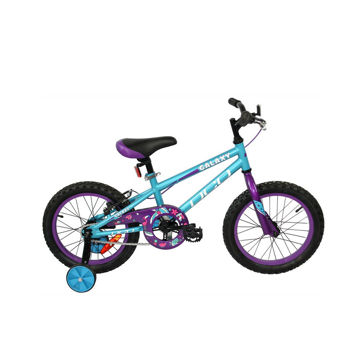 "Picture of DCO BIKE GALAXY 16"" TURQUOISE/PURPLE 2020 FOR JUNIORS"