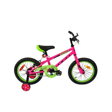 Picture of DCO BIKE GALAXY 16 PINK/GREEN 2020 FOR JUNIORS