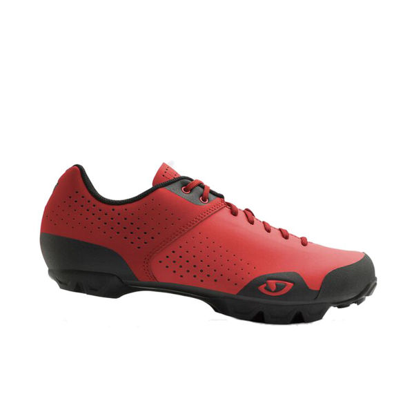 Picture of GIRO BIKE SHOES PRIVATEER LACE BRIGHT RED/DARK RED FOR MEN