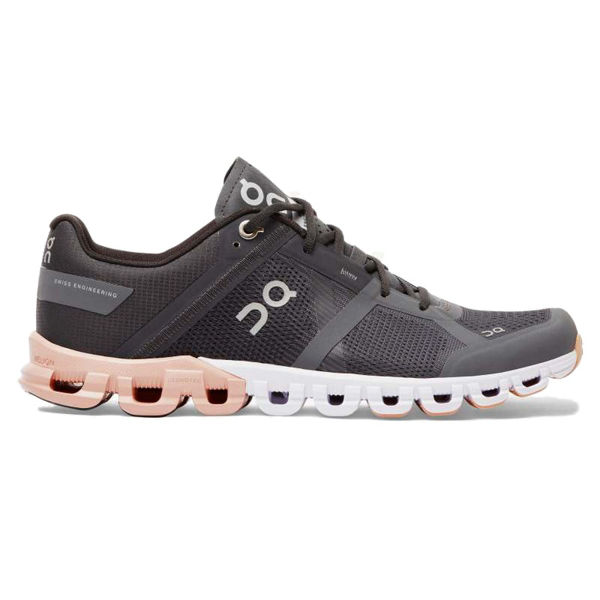 Picture of ON ROAD RUNNING SHOES CLOUDFLOW WMN ROCK/PINK FOR WOMEN