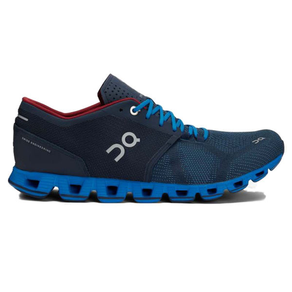 Picture of ON ROAD RUNNING SHOES CLOUD X MEN MIDNIGHT/COBALT FOR MEN