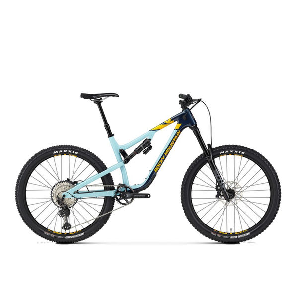 Picture of ROCKY MOUNTAIN MOUNTAIN BIKE ALTITUDE CARBON 50 BLUE/TEAL 2020