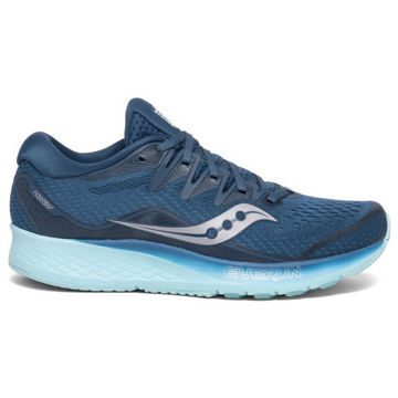 Picture of SAUCONY ROAD RUNNING SHOES RIDE ISO 2 WMN BLUE AQUA FOR WOMEN