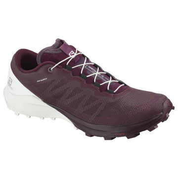 Picture of SALOMON ROAD RUNNING SHOES SENSE 4 W PRO WINETASTIN FOR WOMEN
