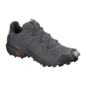 Picture of SALOMON TRAIL RUNNING SHOES SPEEDCROSS 5 MAGNET/BLACK FOR MEN
