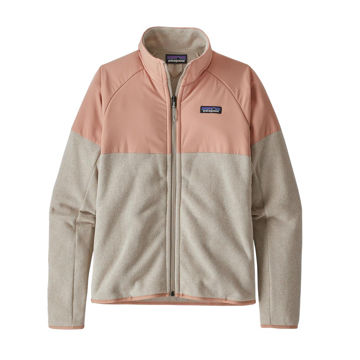Picture of PATAGONIA ALPINE SKI SWEATERS LIGHTWEIGHT BETTER SWEATER SHELLED FLEECE PUMICE FOR WOMEN
