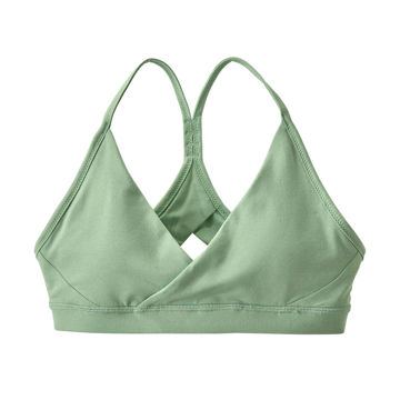 Picture of PATAGONIA BRA CROSS BETA GYPSUM GREEN FOR WOMEN
