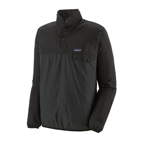 Picture of PATAGONIA RUNNING JACKET HOUDINI SNAP-T PULLOVER FORGE GREY FOR MEN