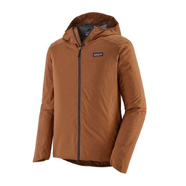 Picture of PATAGONIA BIKE JACKETS DIRT ROAMER WOOD BROWN FOR MEN