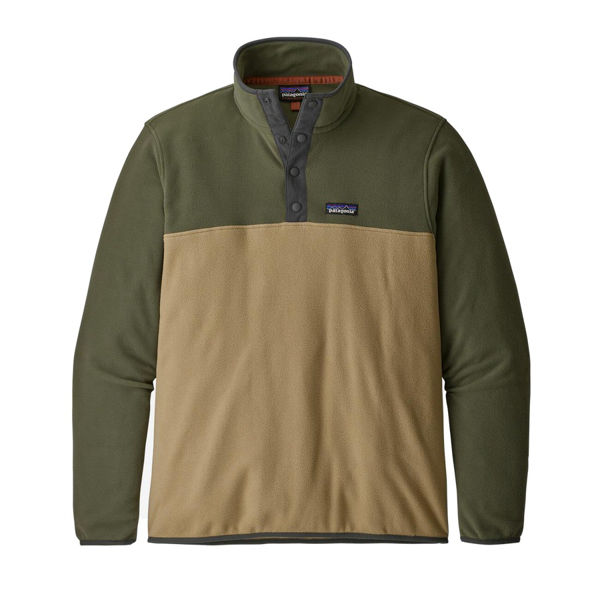 Picture of PATAGONIA ALPINE SKI SWEATER MICRO D SNAP-T CLASSIC TAN FOR MEN