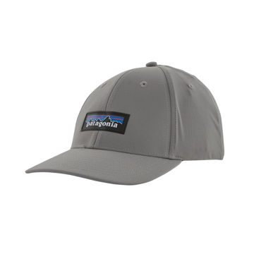 Picture of PATAGONIA CAP P-6 LOGO CHANNEL WATCHER FEATHER GREY
