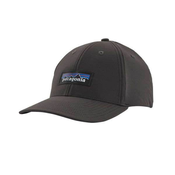 Picture of PATAGONIA CAP P-6 LOGO CHANNEL WATCHER INK BLACK