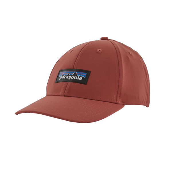 Picture of PATAGONIA CAP P-6 LOGO CHANNEL WATCHER SPANISH RED