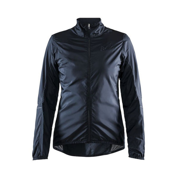 Picture of CRAFT BIKE JACKETS ESSENCE LIGHT WIND BLACK FOR WOMEN