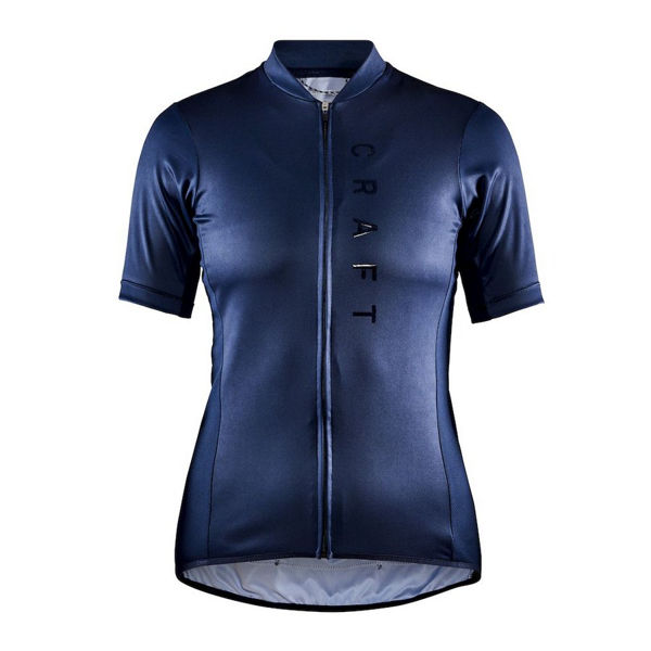 Picture of CRAFT BIKE JERSEY SUMMIT NAVY BLUE FOR WOMEN