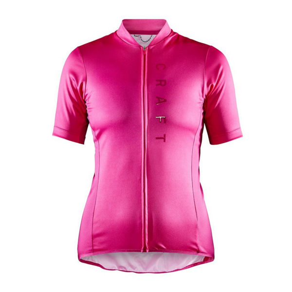 Picture of CRAFT BIKE JERSEY SUMMIT PINK FOR WOMEN