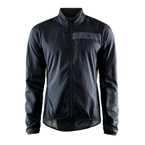 Picture of CRAFT BIKE JACKETS ESSENCE LIGHT WIND BLACK FOR MEN