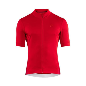 Picture of CRAFT BIKE JERSEY ESSENCE BRIGHT RED FOR MEN