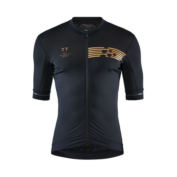 Picture of CRAFT BIKE JERSEY AERO PACK BLACK FOR MEN