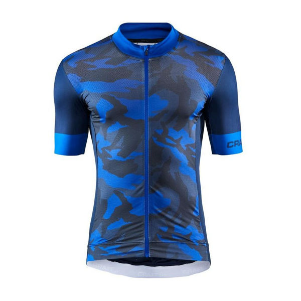 Picture of CRAFT BIKE JERSEY GRAPHIC TRAINING BLAZE/MUTLI FOR MEN
