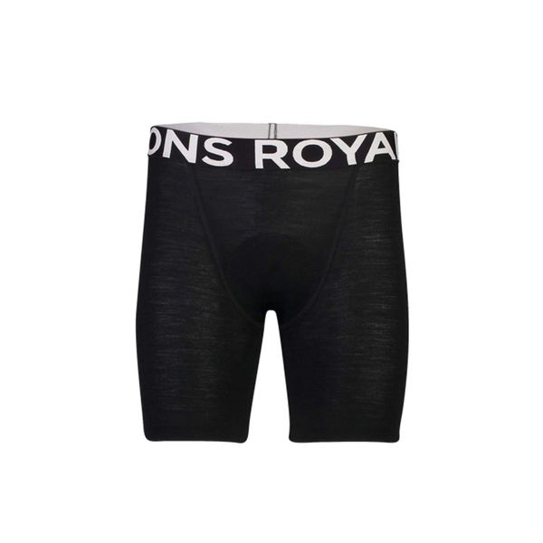 Picture of MONS ROYALE SHORTS WITH CHAMOIS MOMENTUM BLACK FOR MEN
