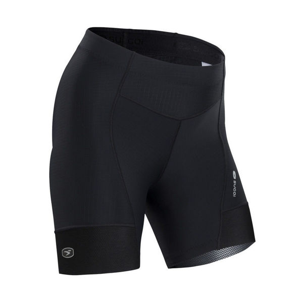 Picture of SUGOI CYCLING SHORTS EVOLUTION SHORTIE BLACK FOR WOMEN