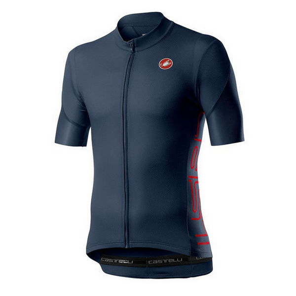 Picture of CASTELLI BIKE JERSEY ENTRATA V DARK INFINITY BLUE FOR MEN