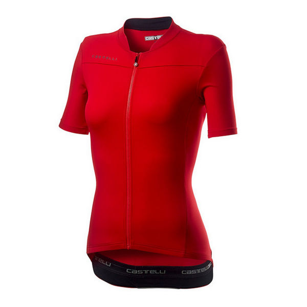 Picture of CASTELLI BIKE JERSEY ANIMA 3 RED FOR WOMEN