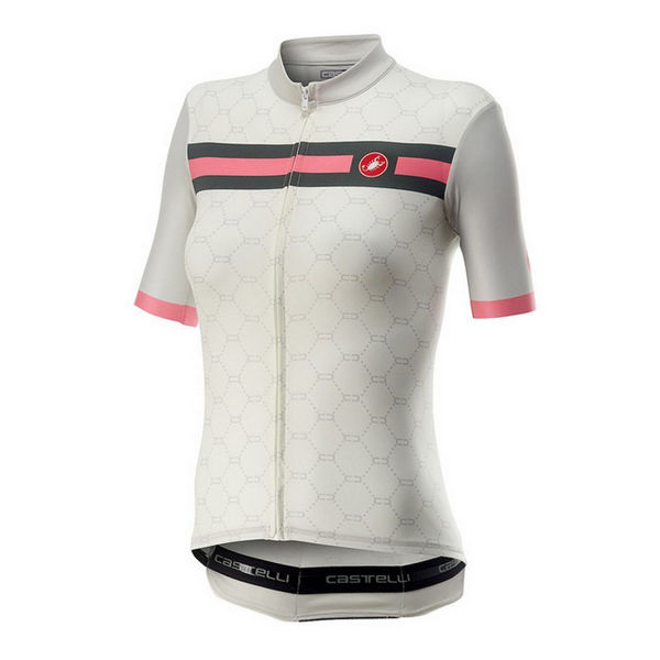 Picture of CASTELLI BIKE JERSEY ATELIER IVORY FOR WOMEN