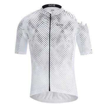 Picture of GORE BIKE JERSEY C3 ENERGIA LIGHT GREY FOR MEN