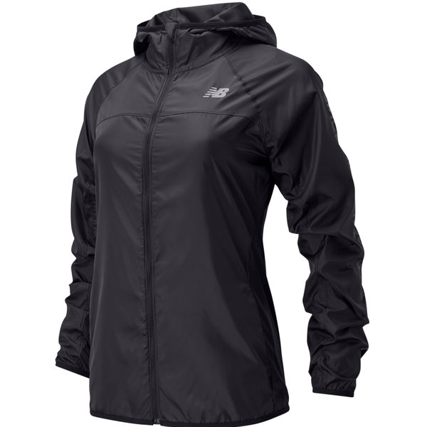 Picture of NEW BALANCE RUNNING JACKET ACCELERATE WINDCHEATER REFLECTIVE BLACK FOR WOMEN