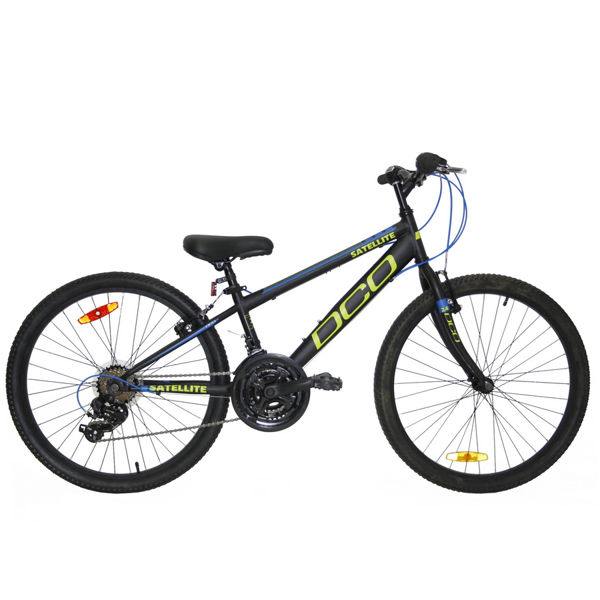 "Picture of DCO BIKE SATELLITE 24"" BLACK/GREEN/BLUE 2020"