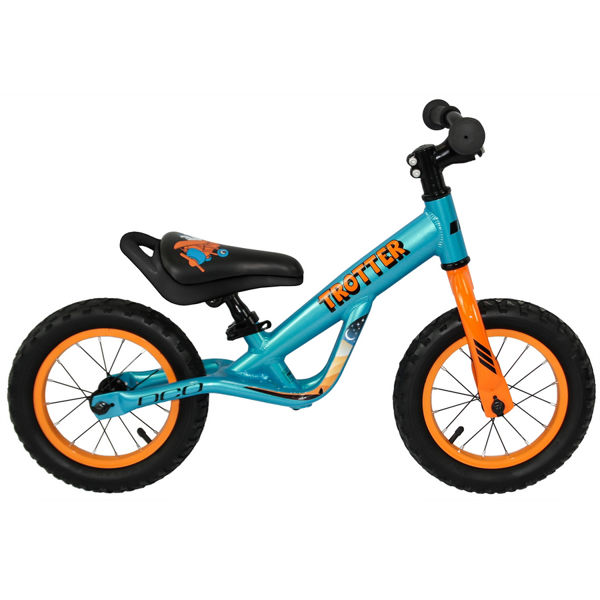 "Picture of DCO BIKE TROTTER 12"" BLUE/ORANGE 2020"