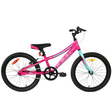 "Picture of DCO BIKE GALAXY AL 20"" PINK 2020 FOR JUNIORS"