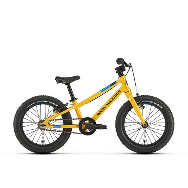 """Picture of ROCKY MOUNTAIN BIKE EDGE 16"""" YELLOW 2020 FOR JUNIORS"""