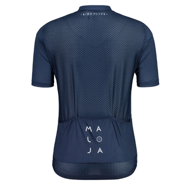 Picture of MALOJA BIKE JERSEY TORN 1/2 BREEZE MOONLESS FOR MEN