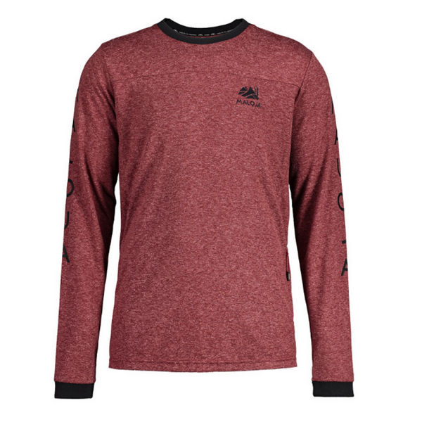Picture of MALOJA BIKE JERSEY MUR FREERIDE RED MONK FOR MEN
