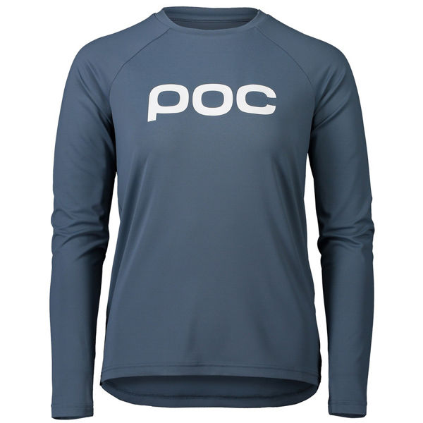 Picture of POC BIKE JERSEY ESSENTIAL MTB CALCITE BLUE FOR WOMEN