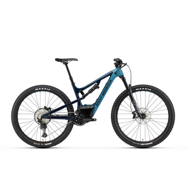 Picture of ROCKY MOUNTAIN ELECTRIC BIKE INSTINCT POWERPLAY C50 BLUE 2020
