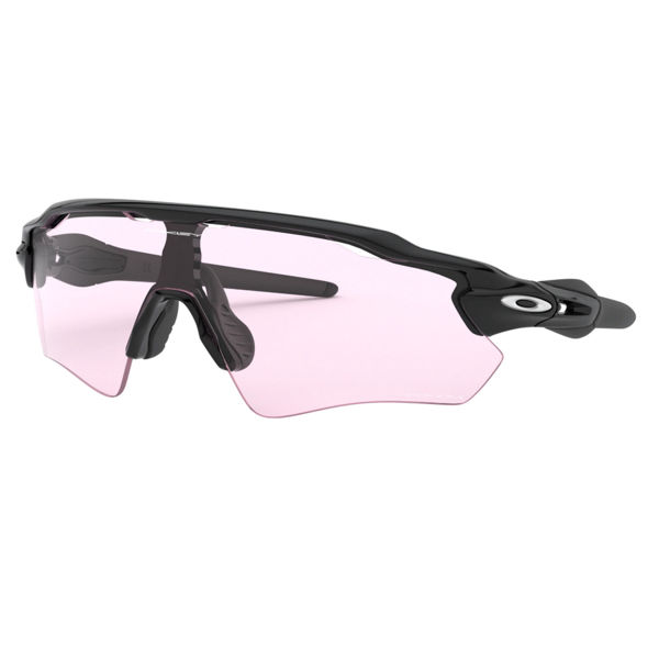 Image sur LUNETTES OAKLEY RADAR EV PATH POLISHED BLACK/PRIZM LOW LIGHT