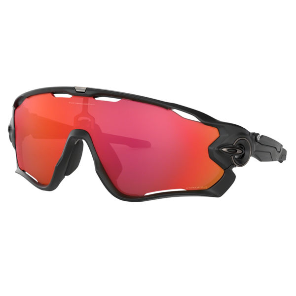 Picture of OAKLEY SUNGLASSES JAWBREAKER MATTE BLACK/PRIZM TRAIL TORCH