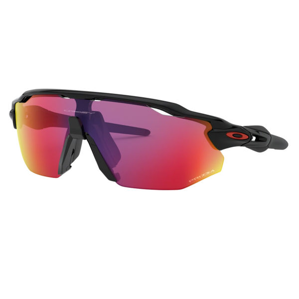 Image sur LUNETTES OAKLEY RADAR EV ADVANCER POLISHED BLACK W/PRIZM ROAD