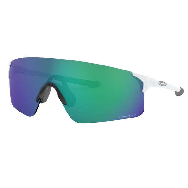 Picture of OAKLEY SUNGLASSES EVZERO BLADES MATTE WHITE /WPRIZM JADE IRIDIUM