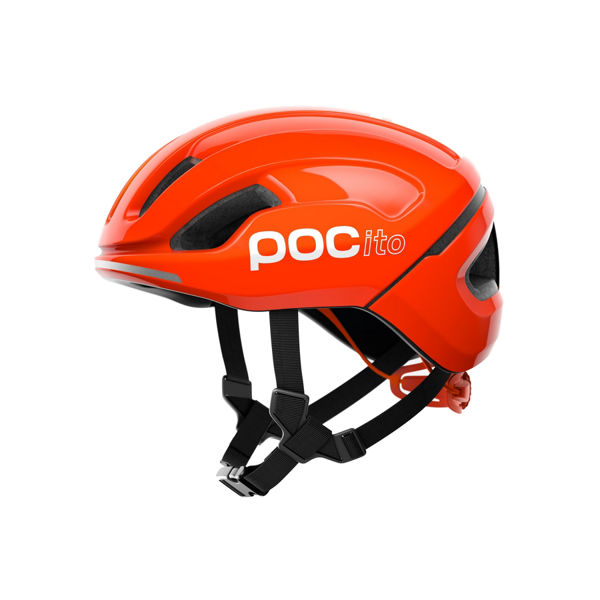 Picture of POC BIKE HELMET POCITO JR OMNE SPIN ORANGE FOR JUNIORS