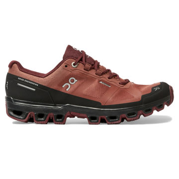Picture of ON TRAIL RUNNING SHOES CLOUDVENTURE WATERPROOF HAZEL/MULBERRY FOR WOMEN