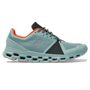 Picture of ON ROAD RUNNING SHOES CLOUDSTRATUS COBBLE/ IVY FOR MEN